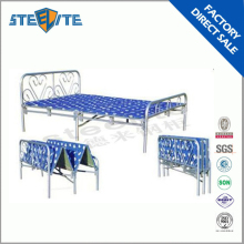 Hot sale hotel folding bed indian bed designs single bed made in china