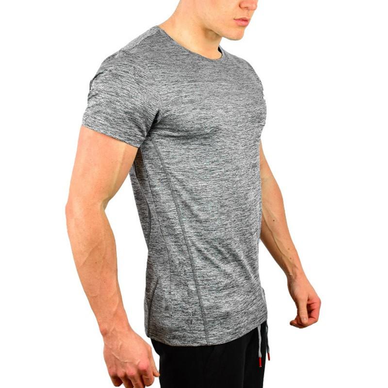Mens new design slub gym dry fit t shirts buy dry fit for Make your own gym shirt
