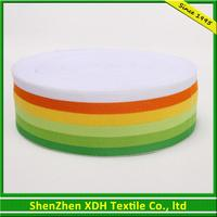 Professional 100% polyester colorful polyester belt webbing made in China
