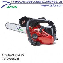 new chainsaw 25cc gasoline powered chain saw/gas powered chainsaw