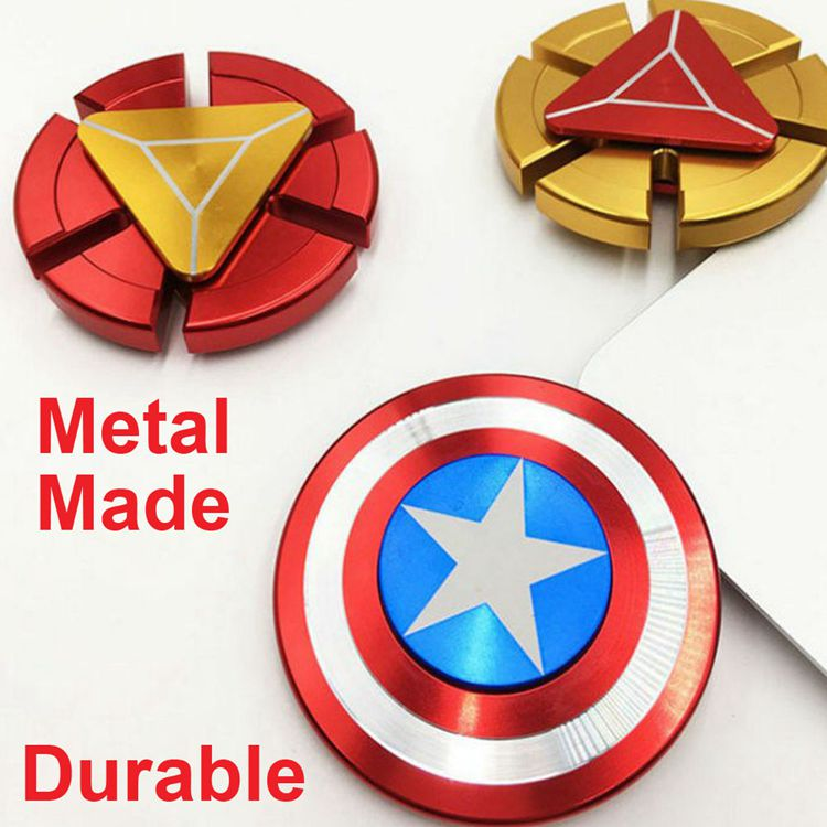 Recall Children Heart Captain America 2 days delievery fidget spinner made in china as Easter Day,Easter Sunday gift