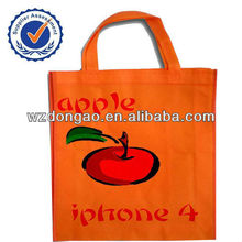 Newest design top quality popular non woven pp shopping bag