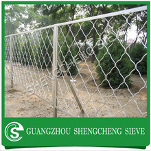 Good view smooth and firm oxidization aluminum meg fence for garden