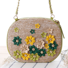 Summer natural straw bag beach bags women shopping bag
