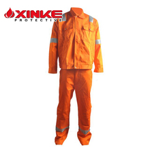 100% cotton construction work wear uniform with EN11612 for industry