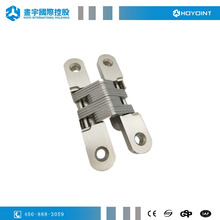 Zinc alloy body& stainless steel core 30kg door weight cross concealed hinge tectus&invisible hinges for steel&folding doors