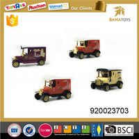 Mini metal vintage car toys