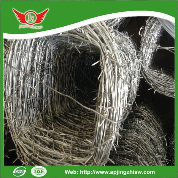 Factory Barbed wire/Razor barbed wire/Barbed wire roll price fence