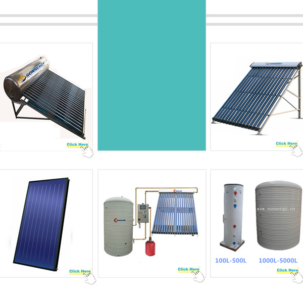 China manufacturer pressure hot solar water tank for factory use
