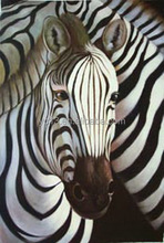 oil painting on canvas home decoration new zebras hand painted