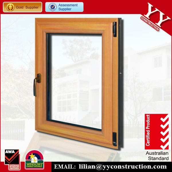 tilt and turn windows, wood grain like, top hung outward opening or side hung outward opening