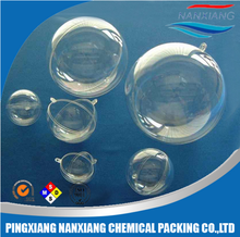 plastic sphere openable ball, transparent ]acrylic plastic sphere