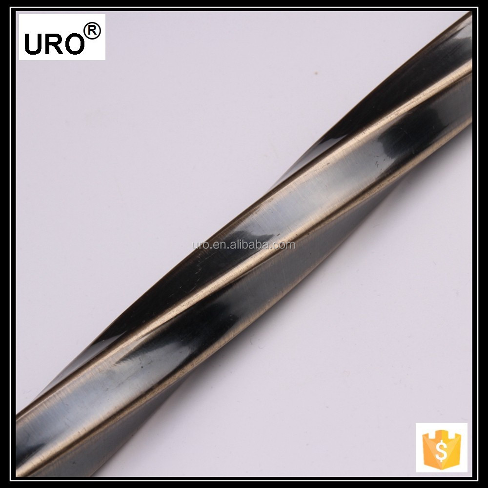 flexiable 0.5/0.6/0.7/0.8mm thickness iron plating curtain rods