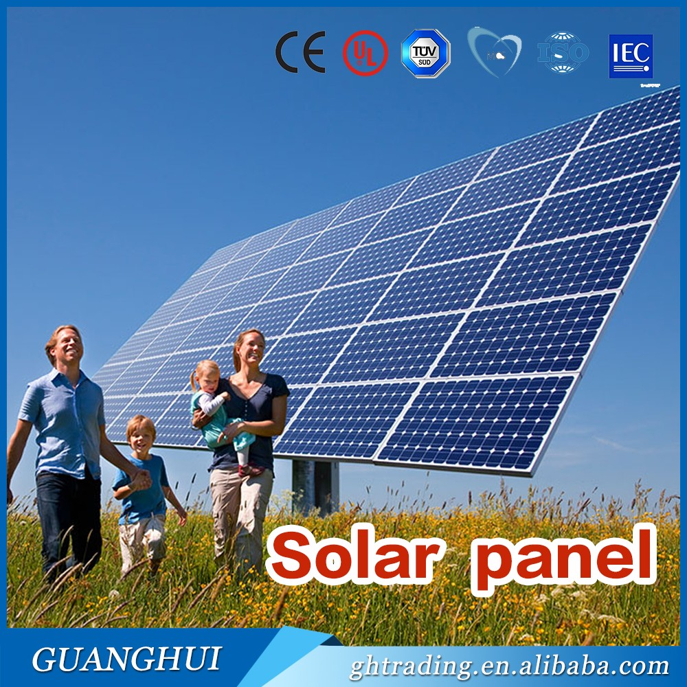 high quality pv <strong>poly</strong> 12 volt 300 watt solar panel from Guanghui factory 300w