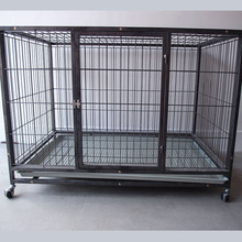 New Design Overstriking Dog Crate Large Dog Cages with Lock