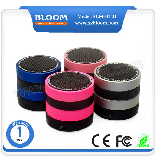 Factory high quality audio speaker , wireless speaker bluetooth .mini bluetooth speaker