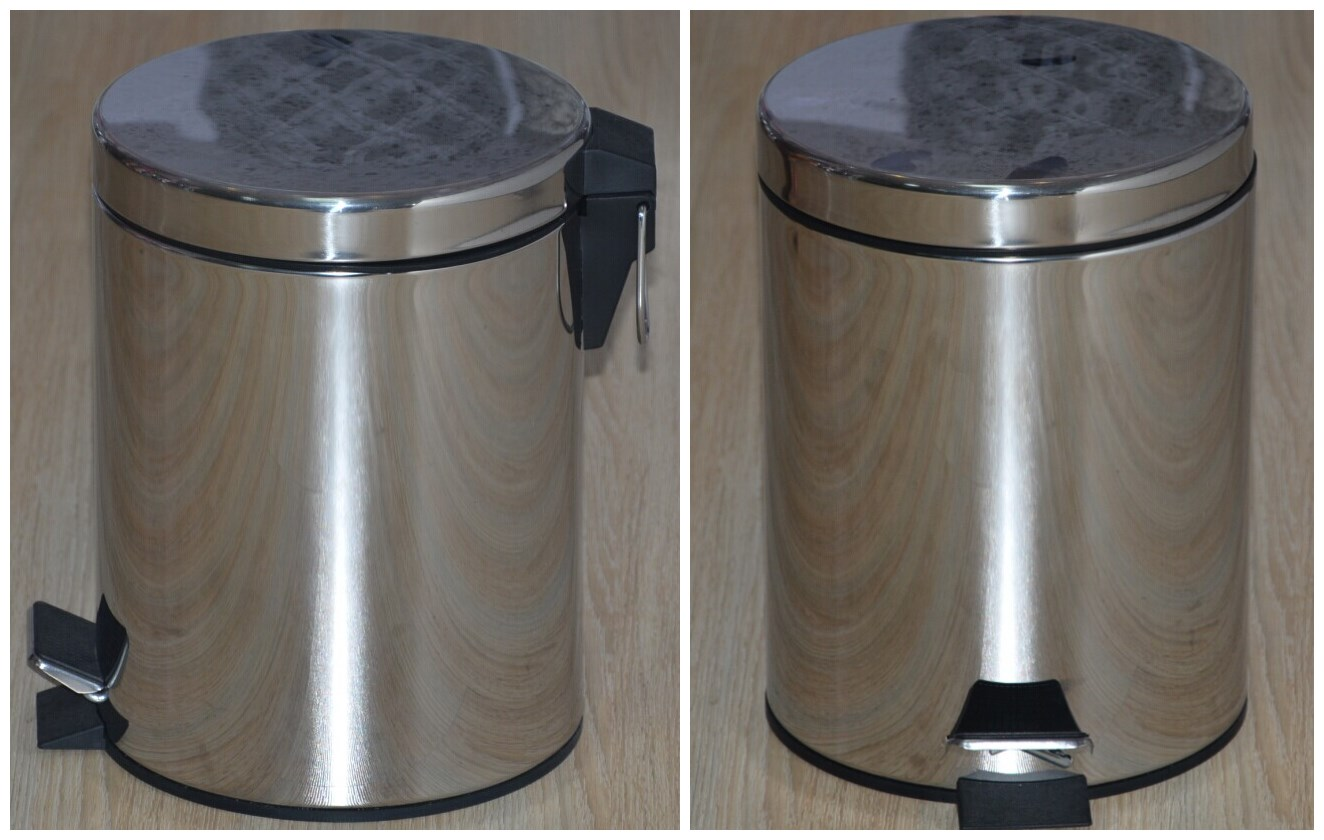 stainless steel round containers