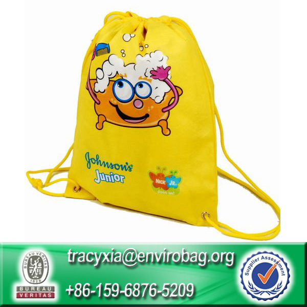 Lead-free 100% Recycled custom drawstring bags