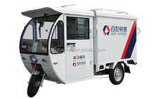 adults closed cabin electric cargo tricycle Triciclo for carrying goods