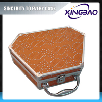 Aluminum good quality smart aluminium cosmetic case/box