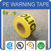 safety warning tape, plastic marking tape