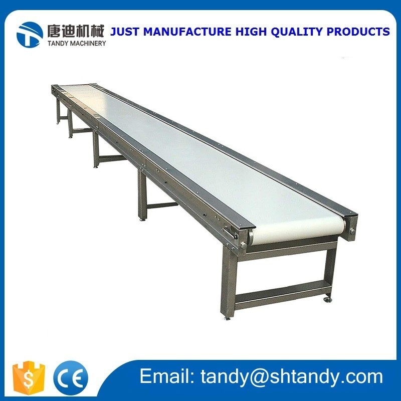 profession rubber belt conveyor for grain seeds used