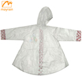 Vinyl Kids Children Raincoat Poncho