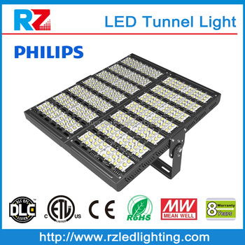 Energy saving industrial led module lighting 8 years warranty IP65 700w project LED tunnel light