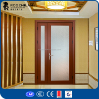 ROGENILAN 45 series aluminum villa entry door glass inserts
