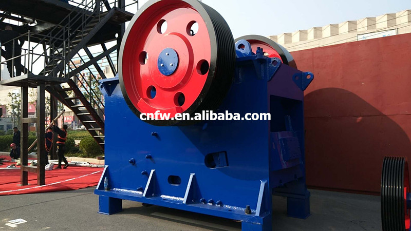 New energy-saving European jaw crusher granite jaw crusher stone jaw crusher