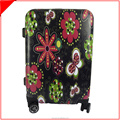 customized design cabin plastic luggage with Universal Wheels