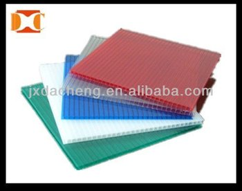Twin Wall Eco Friendly Chemical Resistance Pp Sheet