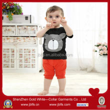 OEM baby's super soft bear pattern tshirt
