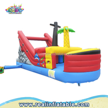 Commercial inflatable boat slide for sale,inflatable corsair slide,inflatable trampolines from china