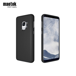 Wholesale Custom China Black Simple Waterproof Blank Cover Tpu Pc Hybrid Smart Mobile Cell Phone Case for Samsung Galaxy S9