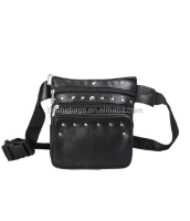 Leather material Waist Pouch Hip Purse Belt Bum Bag small bum bag