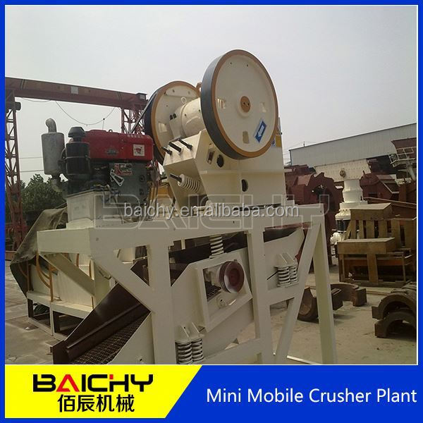 2014 Strongly Recommended plastic crusher used/Mobile Crushing Plant