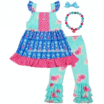 Conice Nini wholesale girls cotton boutique clothing