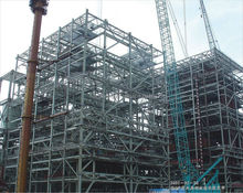 Steel Prefabricated Space Frame Steel Structure Building For Warehouse