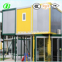 Lovely Modified Container house for Kindergarten