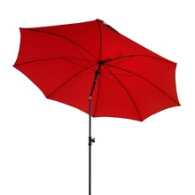 3M promotional beach umbrella with tilt Red umbrella sunshade parasol