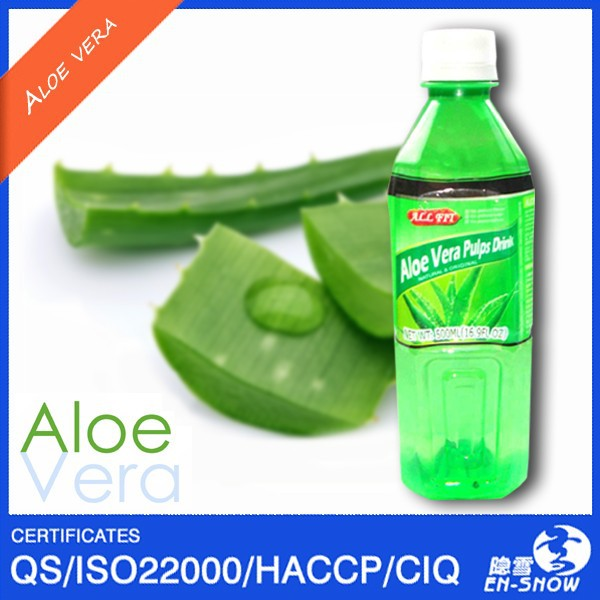 Customized Flavored Aloe Vera Drink with ISO & HACCP