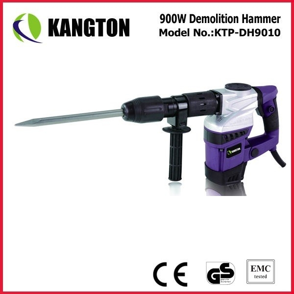 900W Portable High Performance Demolition Hammer