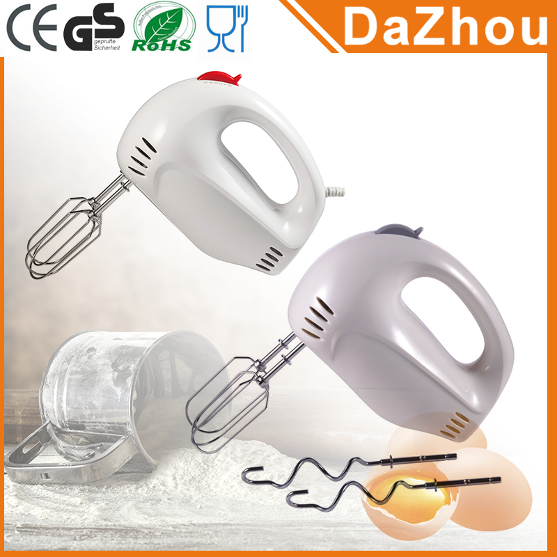 Trade Assurance 200W Plastic Housing 5 Speeds Egg Beater Hand Mixer With Stand