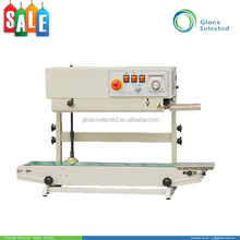 Commodity&Food brand new hot sale automatic continuous plastic bag sealing machine