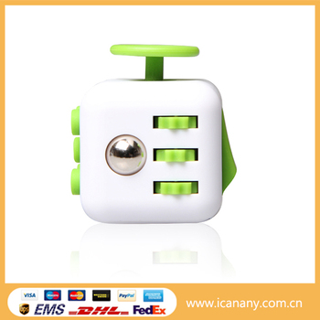 Innovative 2017 stress release fidget toy high quality version fidget cube