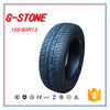 2016 new tyres G-STONE brand high quality passenger car tyres 155/80R13