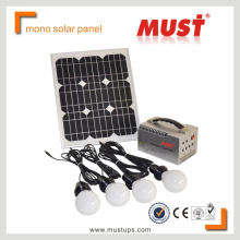MUST 50W mono crystaline silicon PV module/solar panel