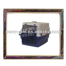 UW-FC-011 comfortable PP plastic dog pet cage with single door for living