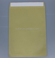 peel & seal brown kraft paper envelope